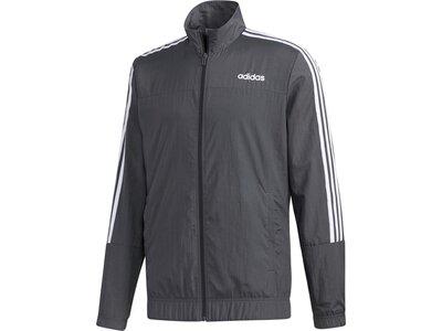 adidas Herren Essentials Woven Trainingsanzug Grau