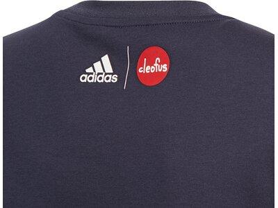 adidas Kinder Cleofus T-Shirt Grau