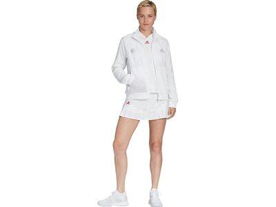 adidas Damen TENNIS UNIFORIA JACKE Weiß
