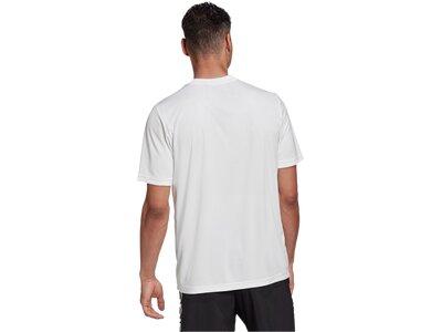 ADIDAS Damen Shirt M CAMO BX T Braun