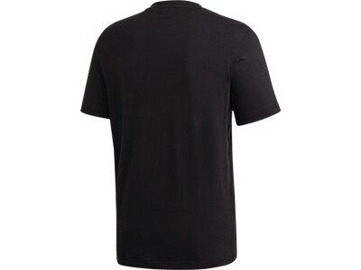 ADIDAS Damen Shirt M BRSHSTRK T Blau