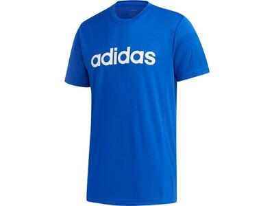 adidas Herren Designed 2 Move Logo T-Shirt Blau
