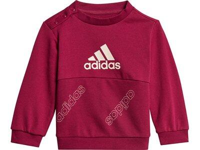 ADIDAS Kinder Sportanzug I FAV JOG SET Rot