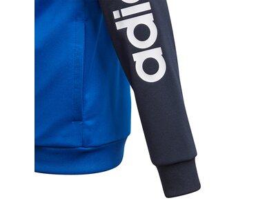 ADIDAS Kinder Sportanzug YB TS PES Blau