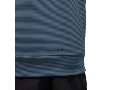 adidas Herren Must Haves AEROREADY Full-Zip Kapuzenjacke Grau