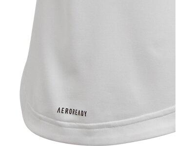 adidas Kinder Bold AEROREADY T-Shirt Grau