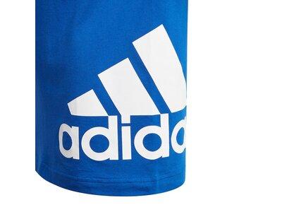 ADIDAS Lifestyle - Textilien - T-Shirts Must Haves Big Logo T-Shirt Kids Blau