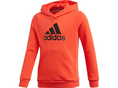 adidas Kinder Must Haves Badge of Sport Hoodie Rot