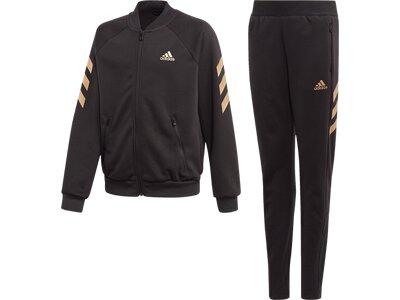 adidas Kinder XFG Trainingsanzug Schwarz