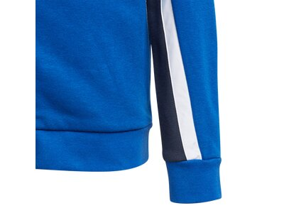 adidas Kinder Bold Kapuzenjacke Blau
