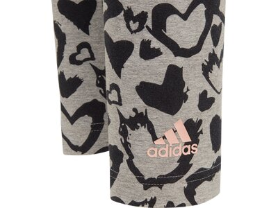 adidas Kinder Must Haves Graphic Tight Grau
