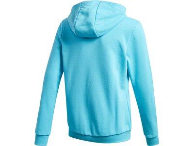 adidas Kinder Must Haves Logo Kapuzenjacke Blau