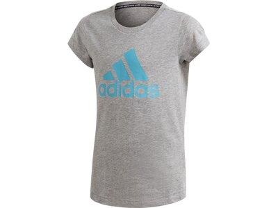 ADIDAS Kinder Shirt YG MH BOS TEE Grau