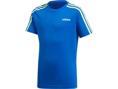 ADIDAS Kinder Sportanzug YB TR 3S SET Blau