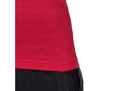 ADIDAS Damen Shirt W E LIN SLIM TK Rot