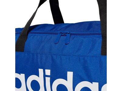 adidas Linear Logo Duffelbag Blau