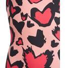 Vorschau: adidas Kinder Girls Heart Graphic Badeanzug