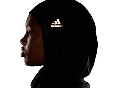 adidas Damen Sport-Hidschab Schwarz