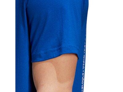 adidas Herren Athletics Graphic T-Shirt Blau
