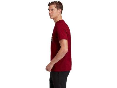 adidas Herren adidas Athletics Graphic T-Shirt Rot