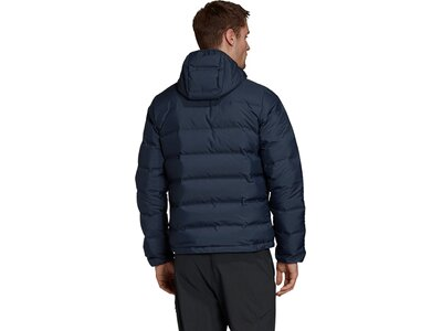 adidas Herren Helionic Hooded Daunenjacke Blau