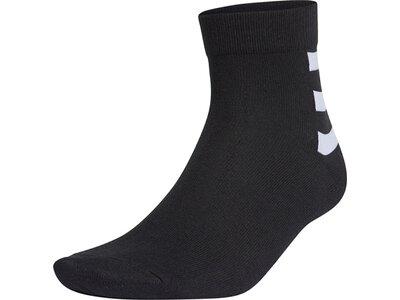 ADIDAS Fußball - Textilien - Socken 3S Ankle Socken 3er Pack Schwarz