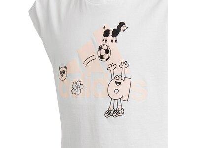 ADIDAS Kinder Shirt G ART TEE Grau
