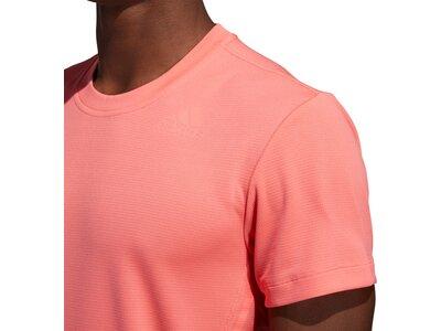 "ADIDAS Herren Trainingsshirt ""Aeroready 3-Streifen"" Pink"