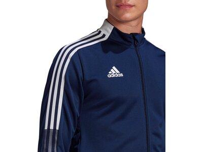 ADIDAS Fußball - Teamsport Textil - Jacken Tiro 21 Trainingsjacke ADIDAS Fußball - Teamsport Textil Blau