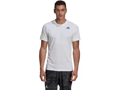 ADIDAS Running - Textil - T-Shirts Freelift Solid T-Shirt Silber