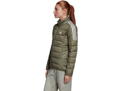 adidas Damen Essentials Daunenjacke Braun