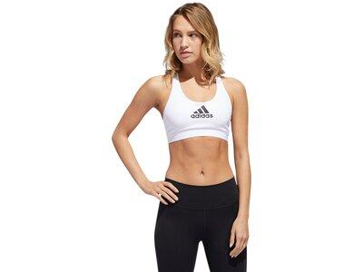 ADIDAS Damen Sport-BH Weiß