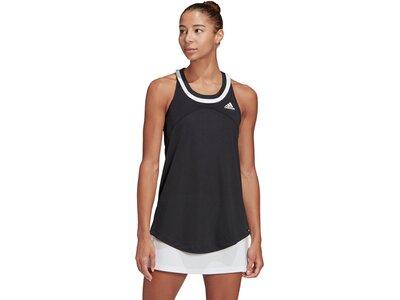 adidas Damen Club Tennis Tanktop Schwarz