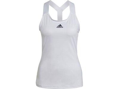 adidas Damen Tennis Y-Tanktop Grau