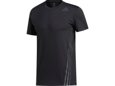 adidas Herren AEROREADY 3-Streifen Cold-Weather T-Shirt Schwarz
