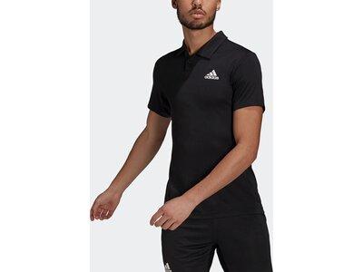 adidas Herren HEAT.RDY Tennis Poloshirt Schwarz