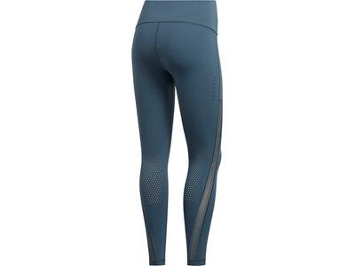 adidas Damen Tights 7/8 ALPHASKIN HEAT.RDY Blau