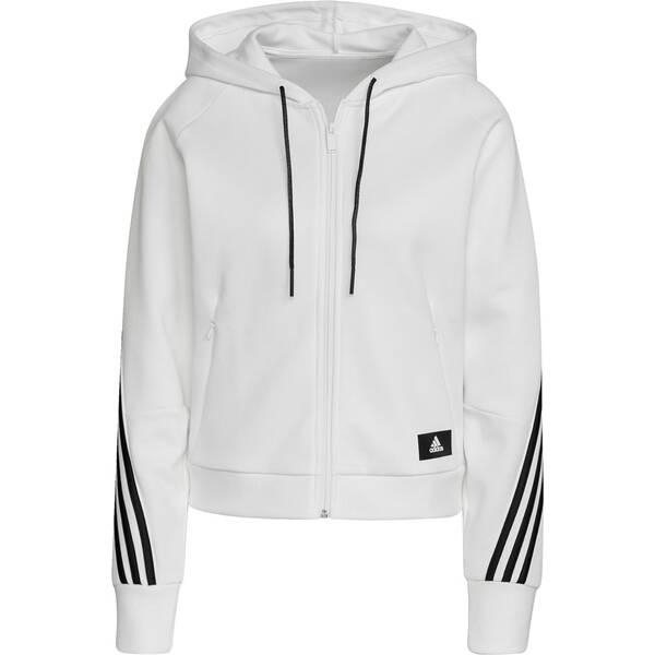 adidas Damen Sportswear Wrapped 3-Streifen Kapuzenjacke