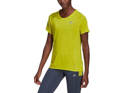 "ADIDAS Damen Laufshirt ""Adi Runner"" Kurzarm Gelb"