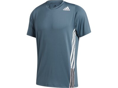 "ADIDAS Herren Trainingsshirt ""Freelift"" Kurzarm Grau"