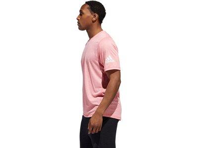 adidas Herren T-Shirt FREELIFT SPORT ULTIMATE HEATHER Pink