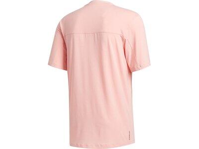 "ADIDAS Herren T-Shirt ""City Base"" Pink"
