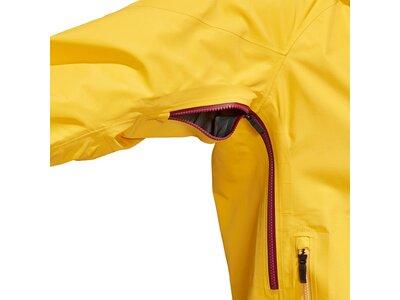 adidas TERREX Damen TECHROCK GORE-TEX REGENJACKE Gelb