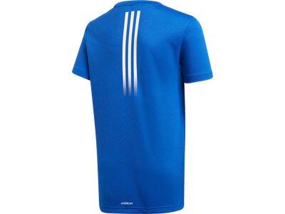 ADIDAS Kinder Shirt JB TR AERO TEE Blau