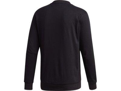 adidas Herren Must Haves Graphic Sweatshirt Schwarz