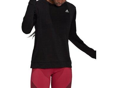adidas Damen Cooler Running Longsleeve Schwarz