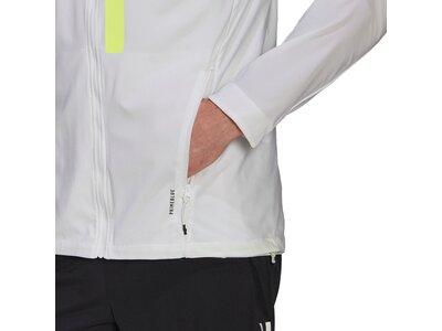 adidas Herren Marathon Translucent Jacke Grau
