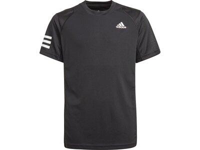 adidas Kinder Club Tennis 3-Streifen T-Shirt Grau