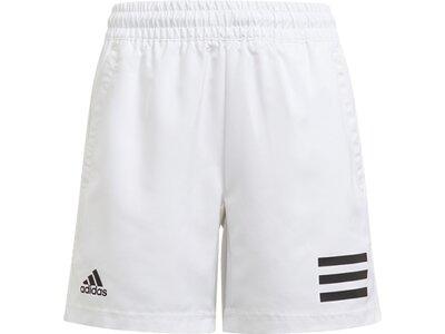 adidas Kinder Club Tennis 3-Streifen Shorts Pink