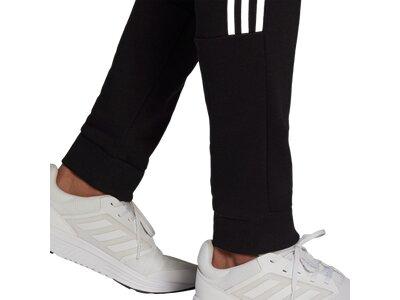 ADIDAS Lifestyle - Textilien - Hosen lang M Cut 3S Jogginghose Schwarz